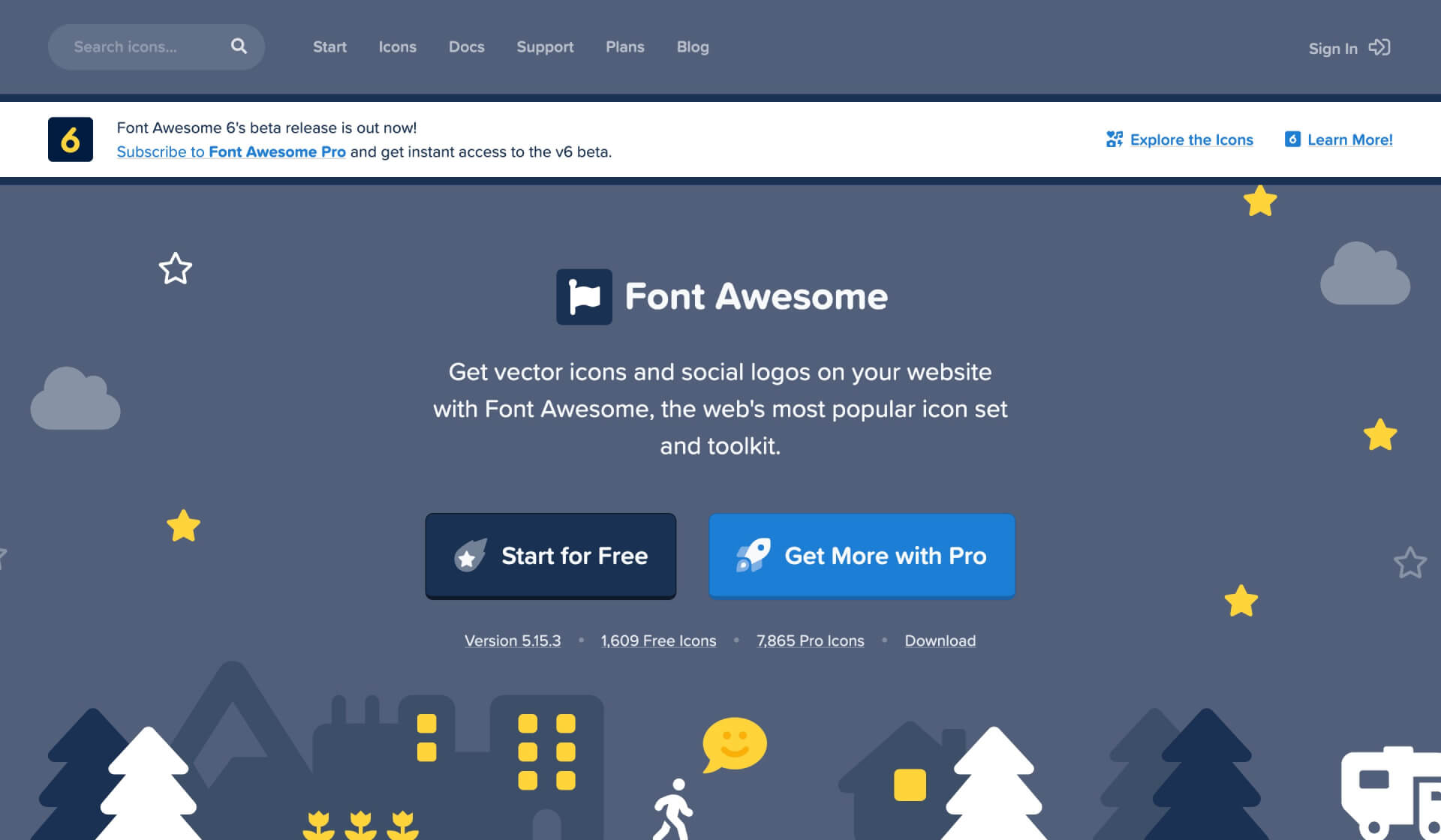 Font Awesome 官方網站外掛頁面-IrvingLab 爾文實驗室