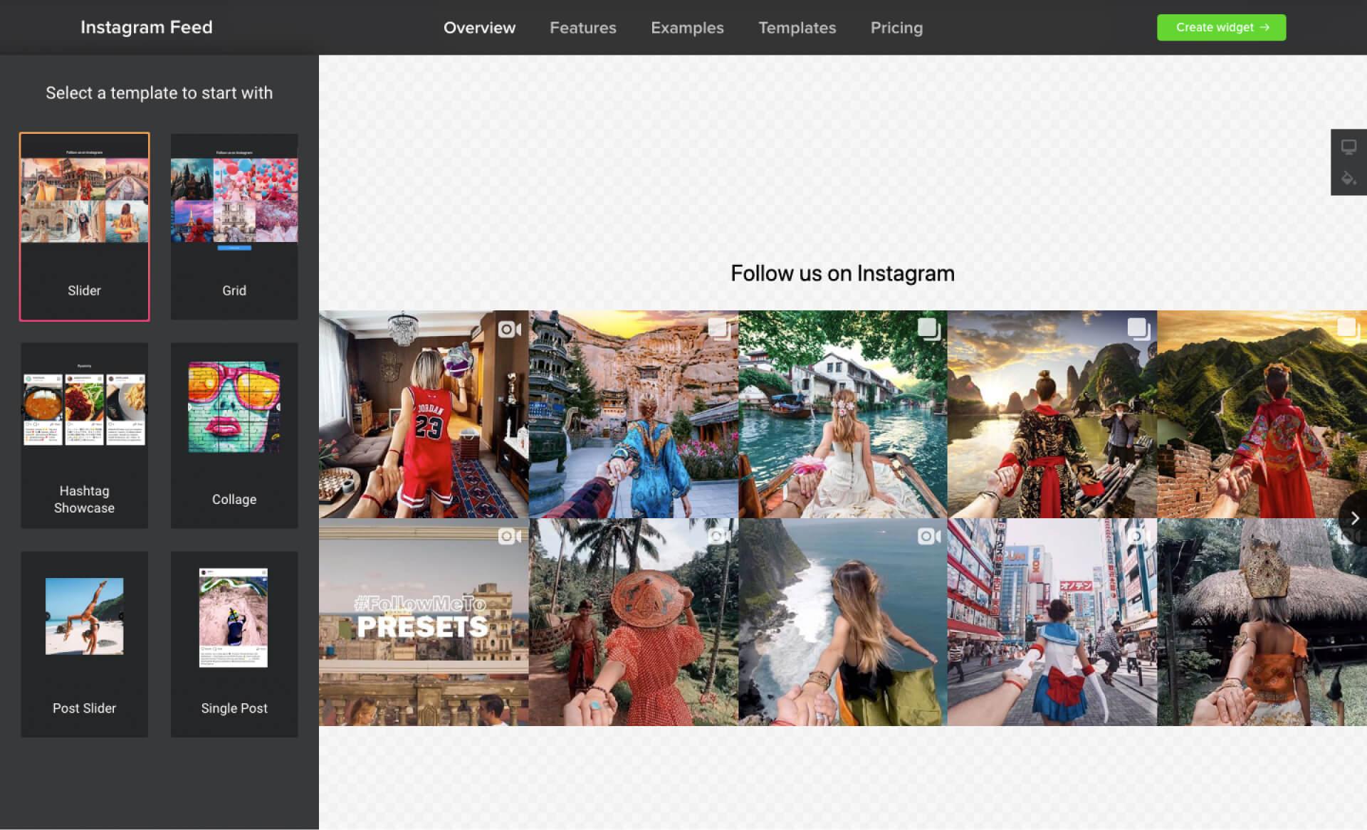Instagram Feed — elfsight 外掛設定介面(有質感又直覺的使用經驗)-IrvingLab 爾文實驗室