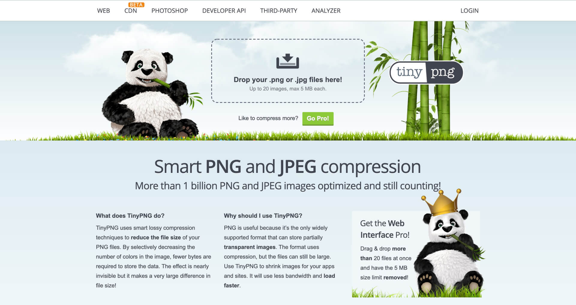 TinyPNG – Compress PNG images while preserving transparency-IrvingLab 爾文實驗室