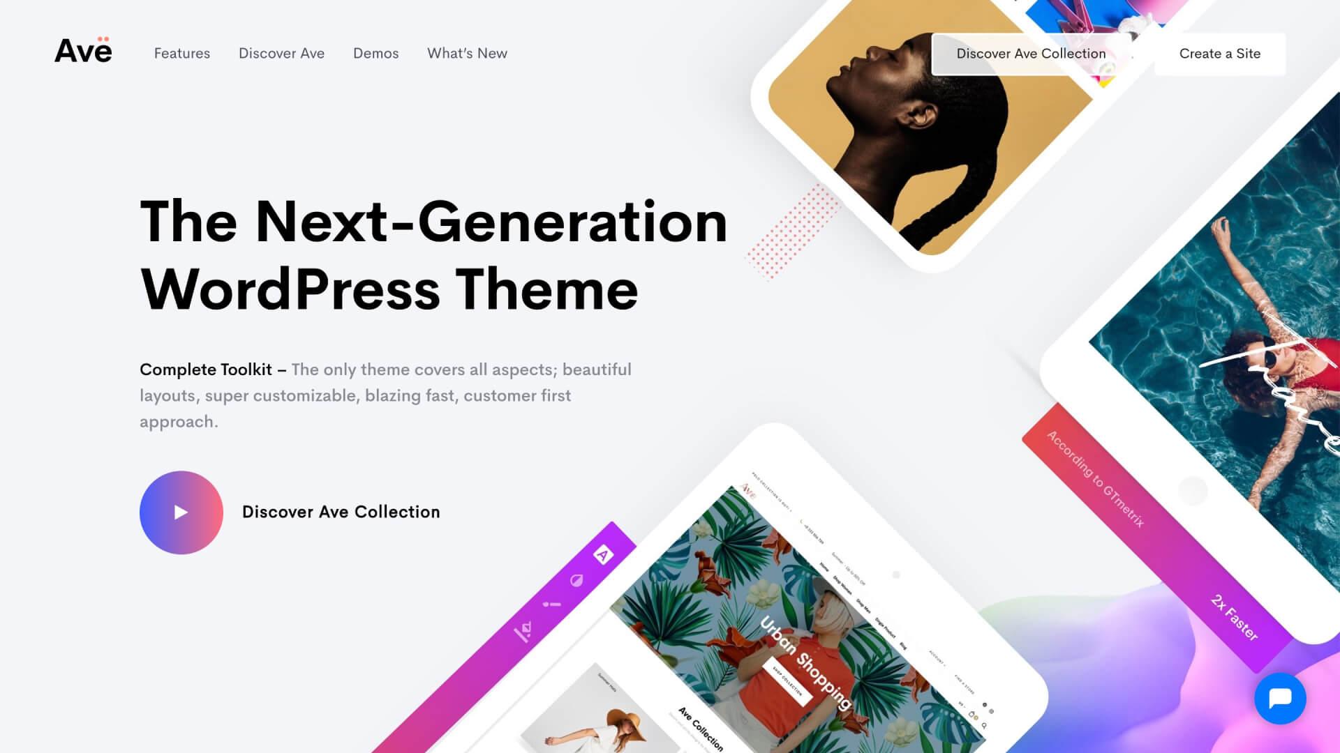 Ave WordPress Theme – The Next Generation WordPress Theme-IrvingLab 爾文實驗室