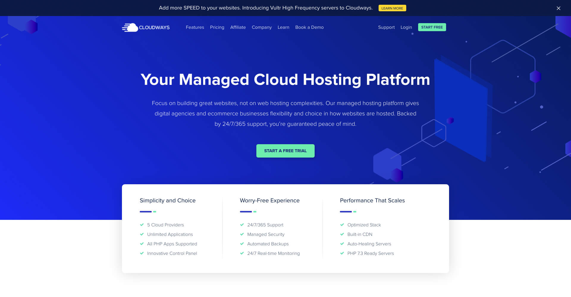 Cloudways_ Managed Cloud Hosting Platform Simplified — 官方網站-IrvingLab 爾文實驗室