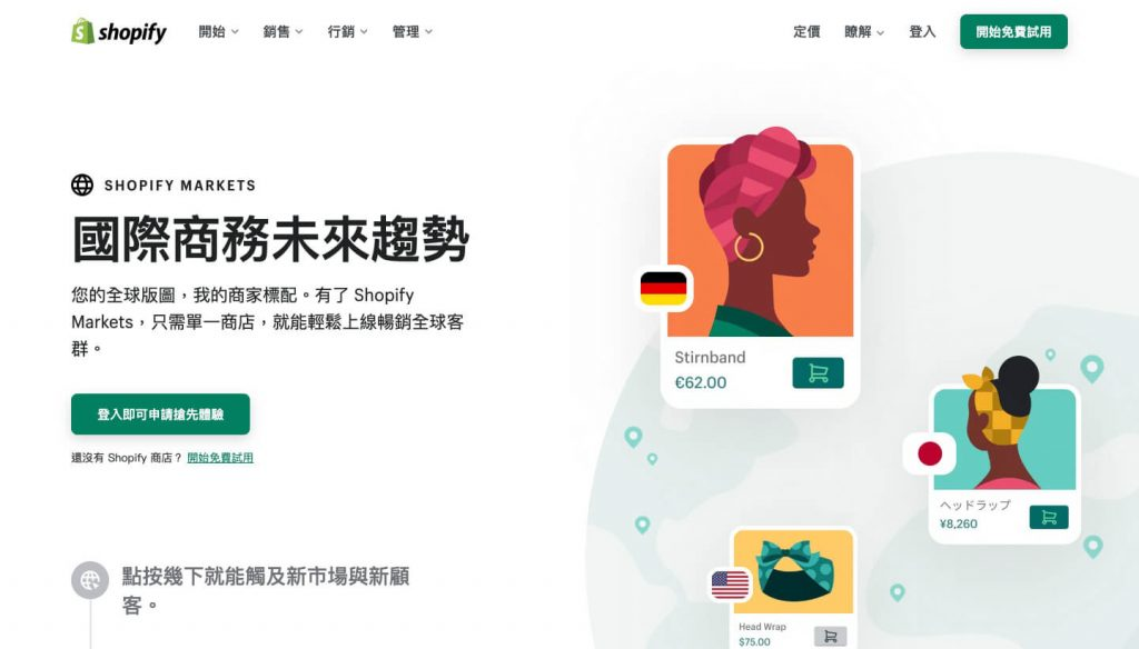 Shopify Markets 國際商務未來趨勢-IrvingLab 爾文實驗室